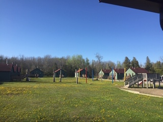 Camp Blaze Cabins and Playground