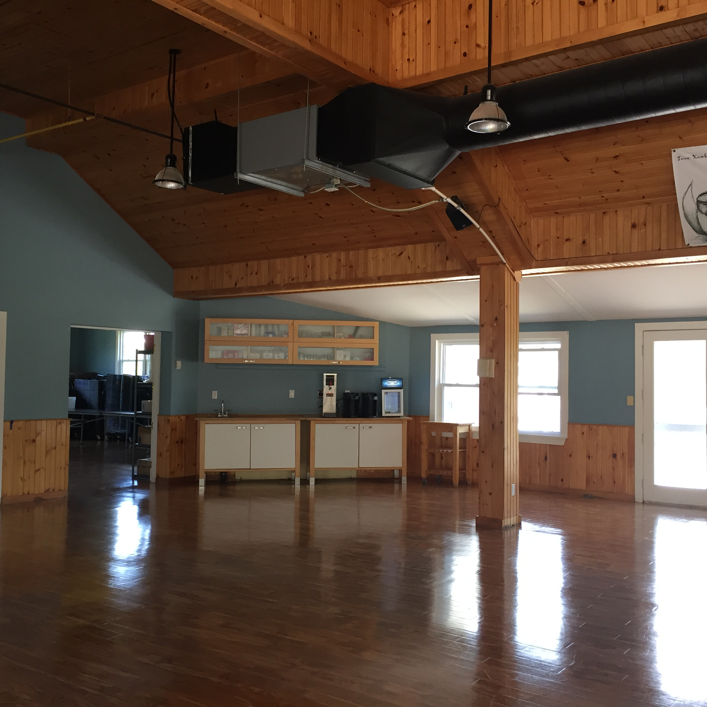 Photo of the Interior of the Jackson's Point Dining Hall Coffee Corner