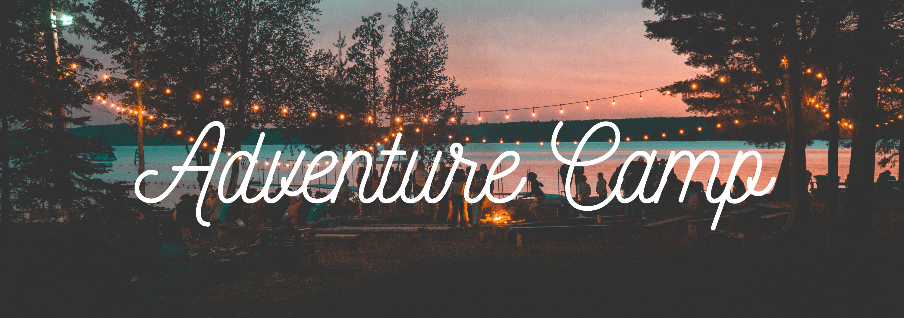 Camping Rotated Script Tumblr Banner